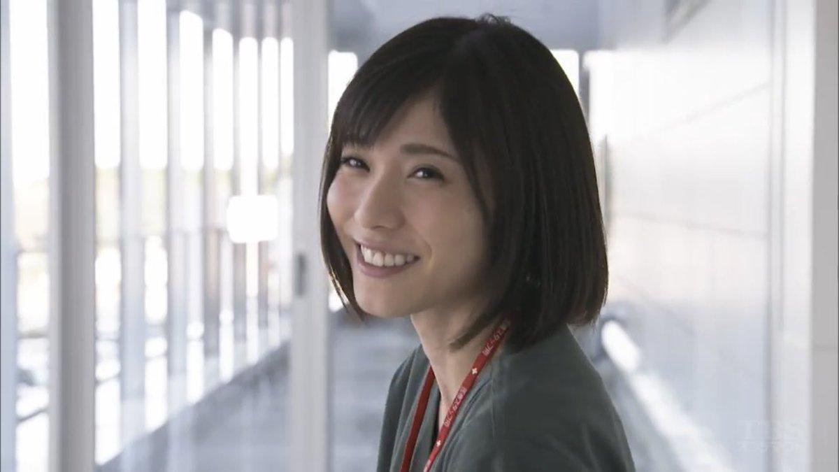 ドラマ コウノドリ より 下屋先生の笑顔がかわいい松岡茉優 あげてけ