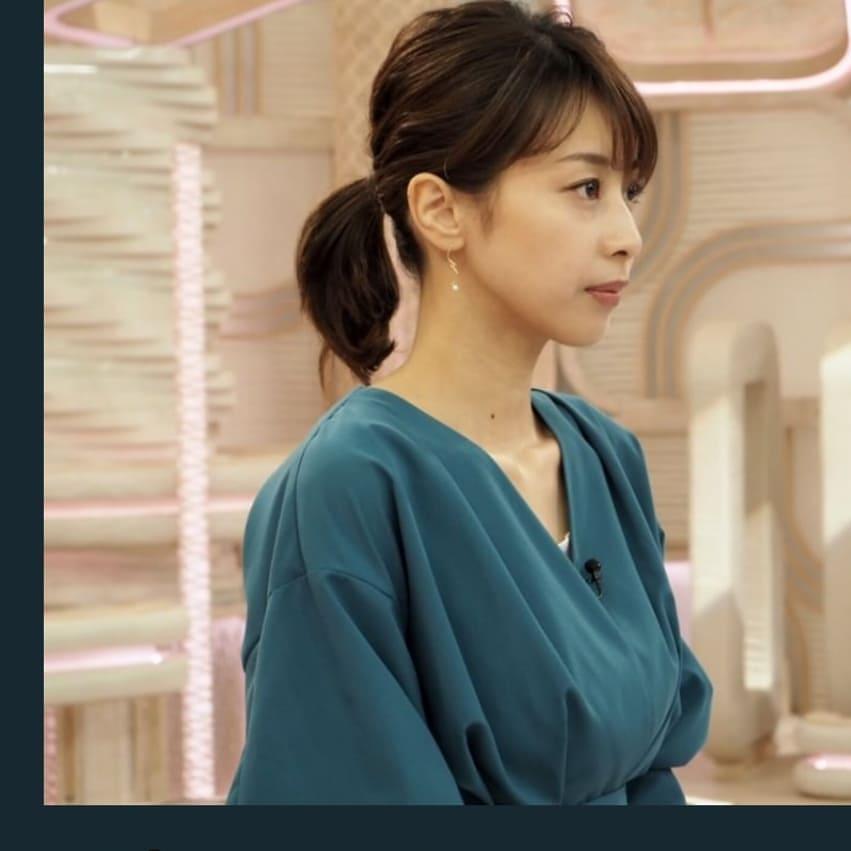 加藤綾子 ニュース 衣装